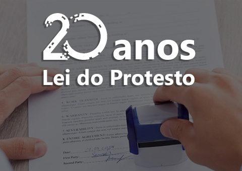 Lei do Protesto faz 20 anos